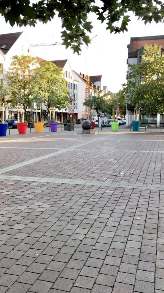 Stadtmitte Senden alter Marktplatz