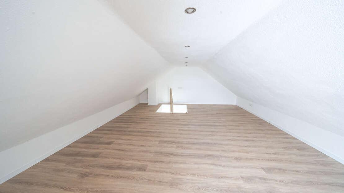 Dachgeschoss Ansicht zum Treppenaufgang