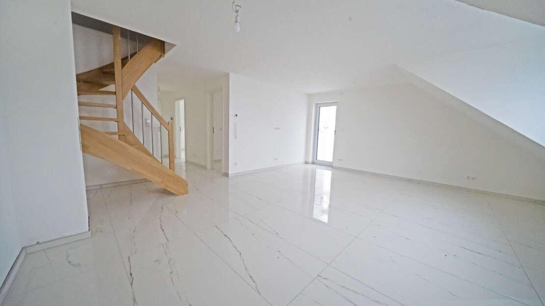 Wohnzimmer 2 - Maisonette Wohnung Ulm