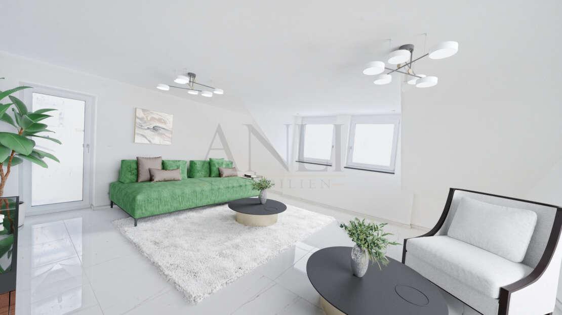 Wohnzimmer 2 visualisiert