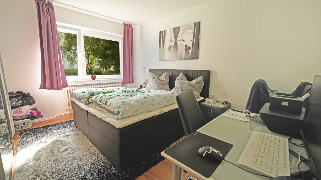2 Zimmer Wohnung mit Loggia in Senden