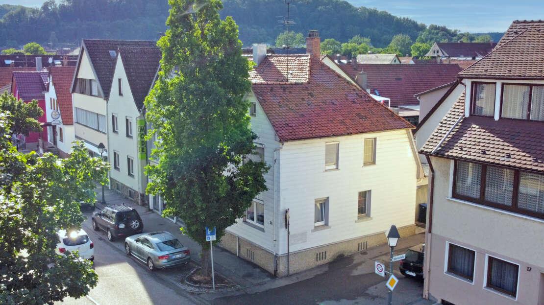 Außenansicht 2 - DHH in Schnaitheim